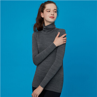 G-Warmer turtleneck solid undershirt