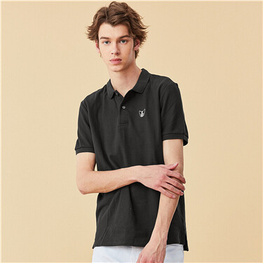 Embroidery polo shirt