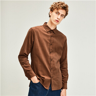 Thick corduroy cotton shirt