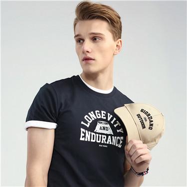 男裝大自然系列印花短袖T恤 (Natural TEE)