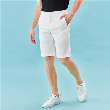 Thin stretchy casual shorts