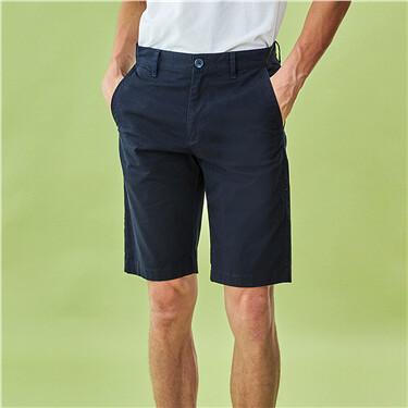 Thin stretchy casual shorts
