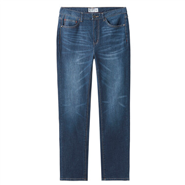 Moustache effect lightweight jeans