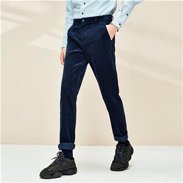 Thick corduroy cotton pants