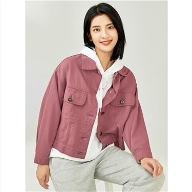 Loose cargo pockets jacket