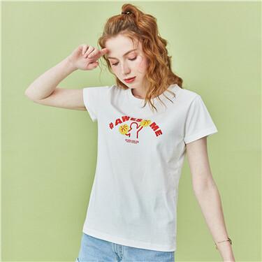女裝印花T恤