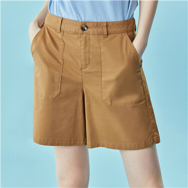 Cargo pockets shorts