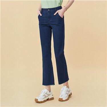 Slight flared jeans