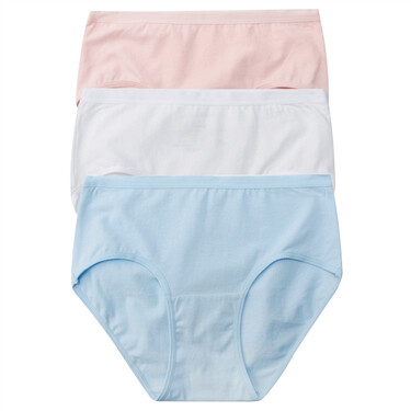 3 packs stretchy plain briefs