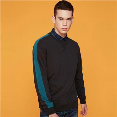 Zip pockets sweatshirt