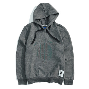 BSX fleece-lined VON gradient graphic hoodie