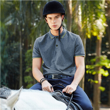 Pique Short Sleeve Slim Polo
