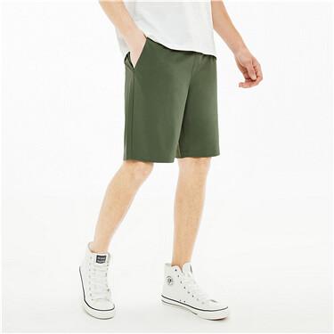 黑科技3M弹力速干薄款松紧腰短裤