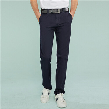 Slim tapered pants