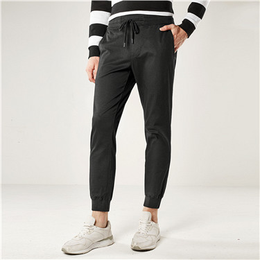 G-Motion solid slim tapered joggers