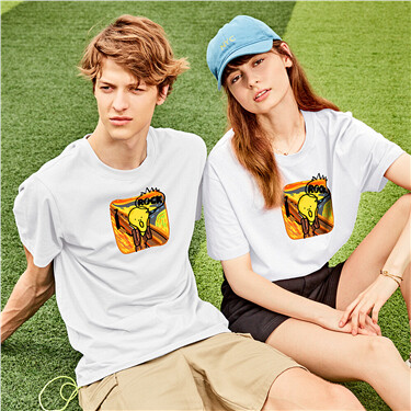 BOBO series graphic tee (Couple design, unisex)