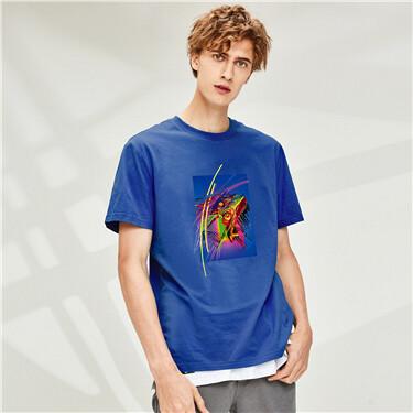Printed short-sleeve T-shirts