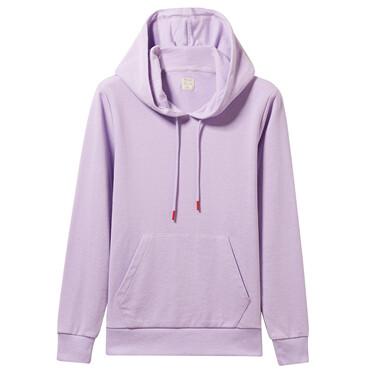 Kangaroo pocket long-sleeve hoodie