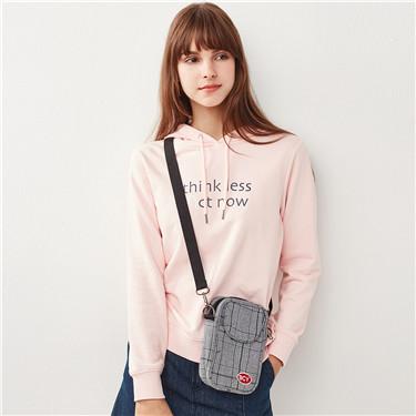 Printed Letter hoodie