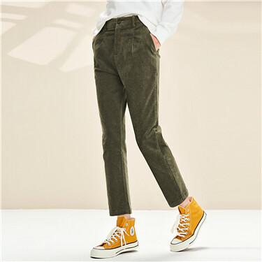 Corduroy Casual Pants
