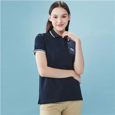Slim Pique Polo Shirt