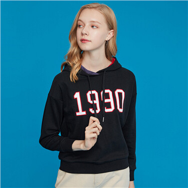 Dream series printed hoodie