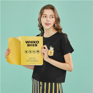WHIKO series printed graphic tee
